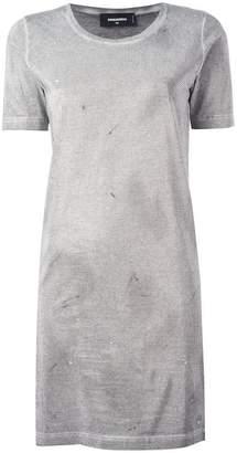 DSQUARED2 microstudded T-shirt dress