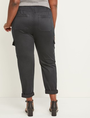Lane Bryant Pull-On Cargo Ankle Pant