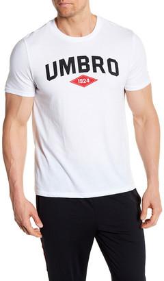 Umbro Short Sleeve Arch Front Logo Tee $22 thestylecure.com