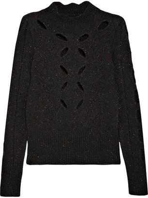 Isabel Marant Elea Cutout Knitted Sweater - Black