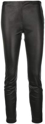 RED Valentino skinny flat front trousers