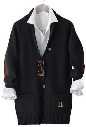 Classic Long Wool Cardigan