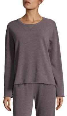 ATM Anthony Thomas Melillo Pullover Shoulder Sweatshirt