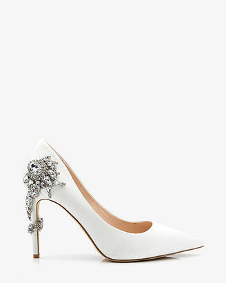 Le Château Jewel Embellished Pointy Toe Pump