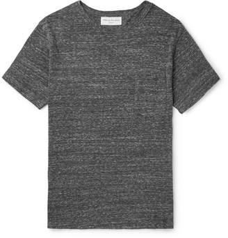 Officine Generale Mélange Cotton-Blend Jersey T-Shirt