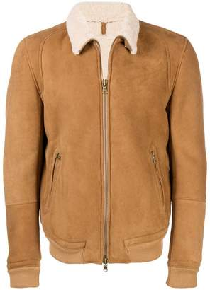 Mauro Grifoni shearling lined jacket