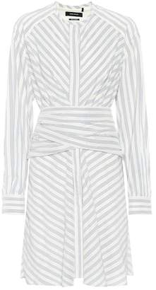 Isabel Marant Victoria striped silk-blend dress