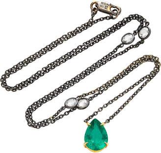 ara Vartanian 18K Gold Emerald Pendant