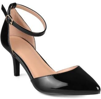 Co Brinley Women's Ankle Strap Patent Pumps