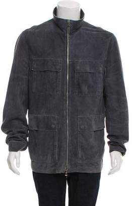 HUGO BOSS Boss by Suede Field Jacket