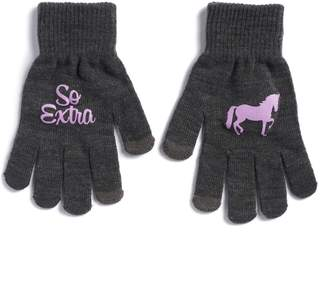 "Women's SO ""So Extra"" Unicorn Tech Knit Gloves"