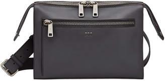 Fendi zipped messenger bag