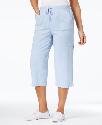 Karen Scott French Terry Capri Pants, Only at Macy's $44.50 thestylecure.com
