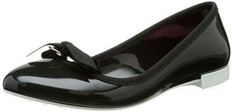 Lemon Jelly Women's Bow Ballet Flats Black Size: