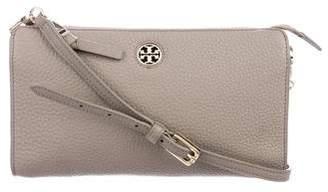 Tory Burch Grained Leather Zip Crossbody Bag