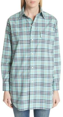Burberry Crow Plaid Shirt