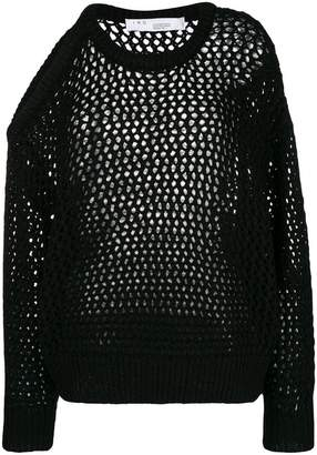 IRO cut-out shoulder jumper