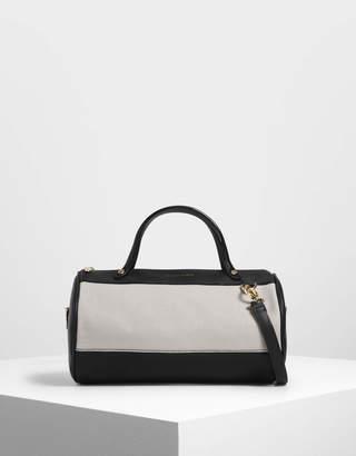 Charles & Keith Mini Duffle Crossbody Bag