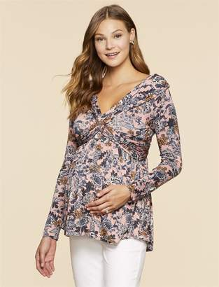 Jessica Simpson Motherhood Maternity Off The Shoulder Maternity Top