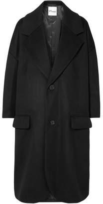 Noir Kei Ninomiya Wool-blend Coat - Black