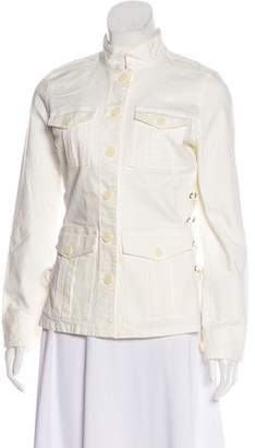 Tory Burch Button-Up Utility Jacket w/ Tags
