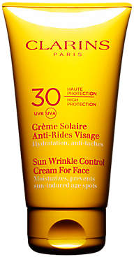 Clarins Sun Wrinkle Control Cream for Face SPF 30, 75ml