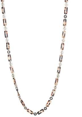 """Lauren Ralph Lauren Tortoise Link Necklace, 36"""""""