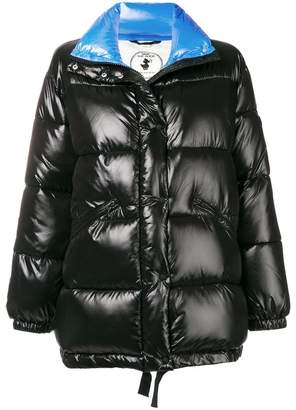 Save The Duck Disney patch padded jacket
