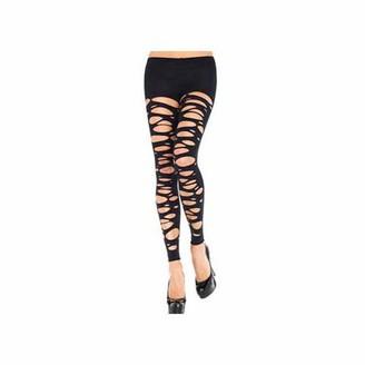Leg Avenue Erotic Tattered Leggings 7306 Black
