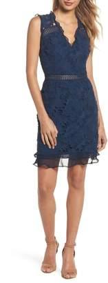 Cooper St Lustrous Lace Sheath Dress