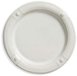 Juliska Berry & Thread French Panel Whitewash Dessert & Salad Plate