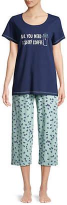 Hue Two-Piece Printed Pyjama Set