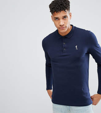 Religion Tall Long Sleeve Pique Polo