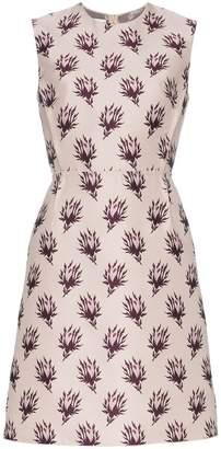 Giambattista Valli floral embroidered silk mini dress