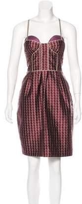 Proenza Schouler Jacquard Bustier Dress