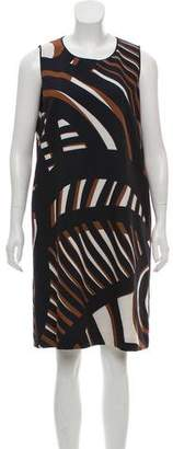 Lafayette 148 Patterned Shift Dress