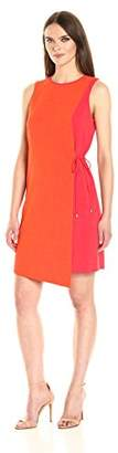 Tahari by Arthur S. Levine Women's Sleevless Color Block Dress
