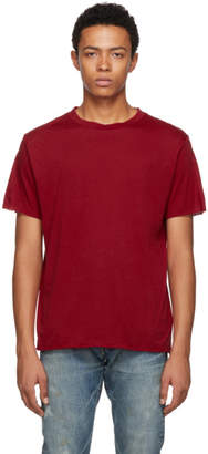 Simon Miller Red Cotton and Cashmere T-Shirt