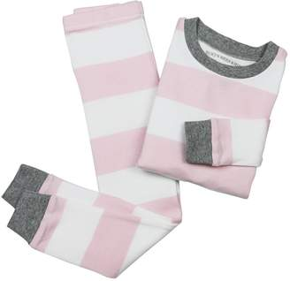 Burt's Bees Rugby Stripe Organic Baby Pajamas