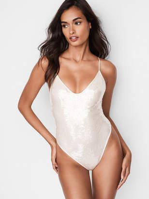 Victoria's Secret Dream Angels Sequin Bodysuit