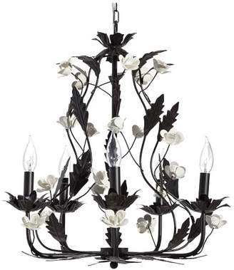 Pottery Barn Teen Anna Sui Floral Chandelier