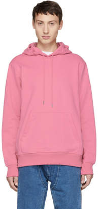 Helmut Lang Reversible Pink Jeremy Deller Dark Hoodie