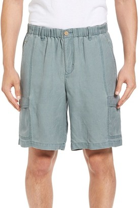 Tommy Bahama Linen the Dream Cargo Shorts $98 thestylecure.com