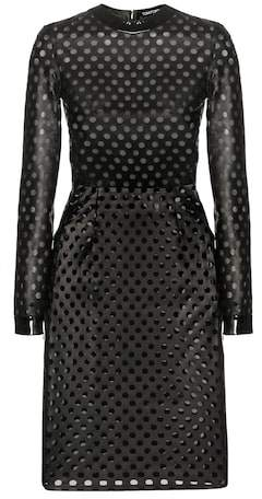 Tom Ford Perforated leather dress