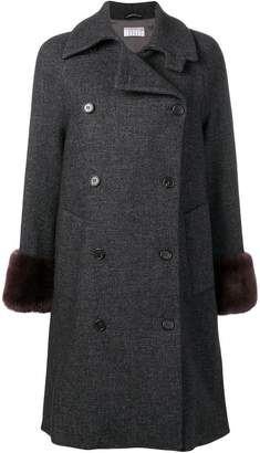 Kiltie double breated coat