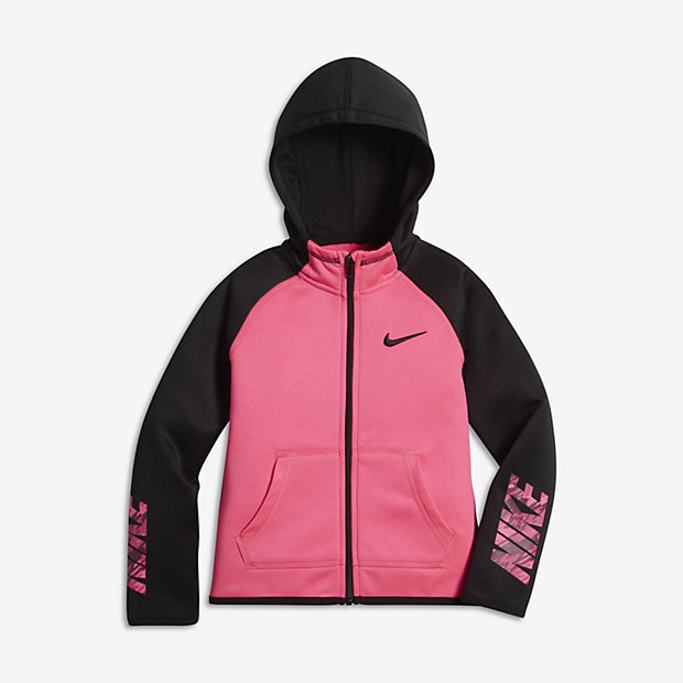 Nike Therma Little Kids' (Girls') Hoodie