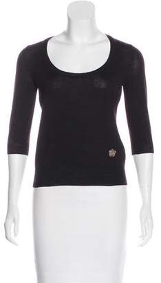 Saint Laurent Wool Knit Top