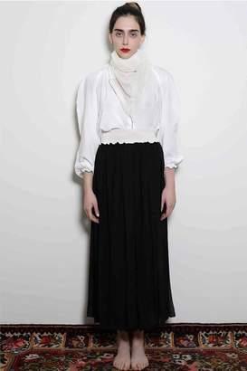 Levinia Konyalian Ribbon Maxi Skirt