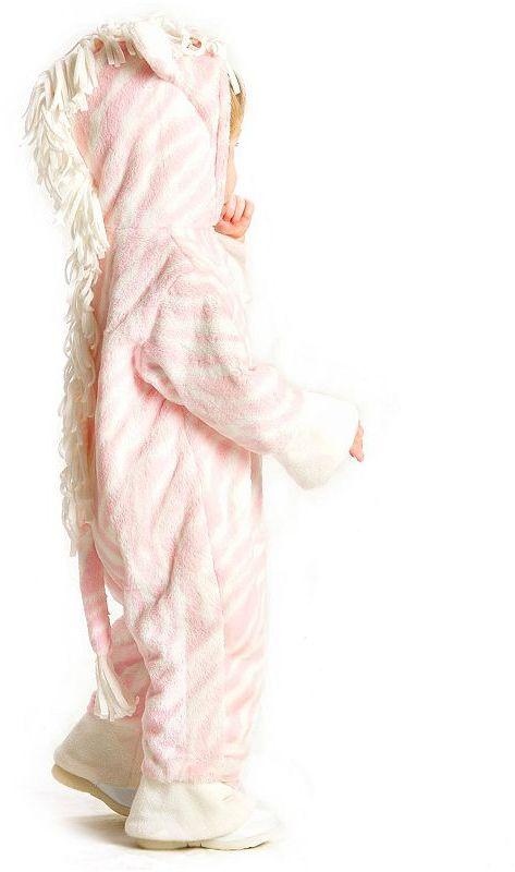 Pink zebra costume