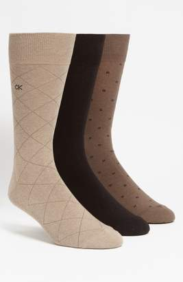 Calvin Klein 3-Pack Patterned Socks